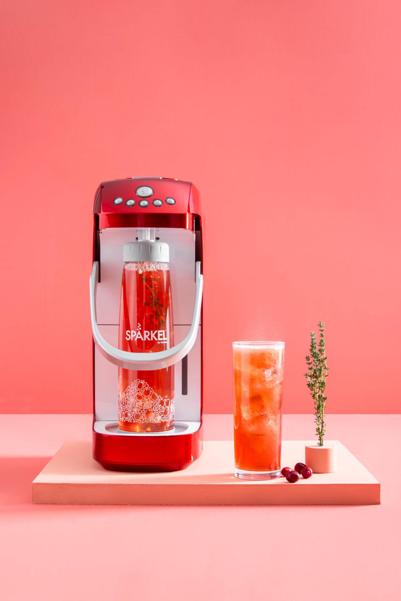 Cranberry Apple Soda