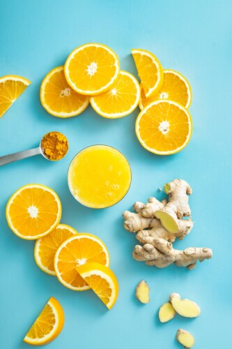 Orange Turmeric Ginger