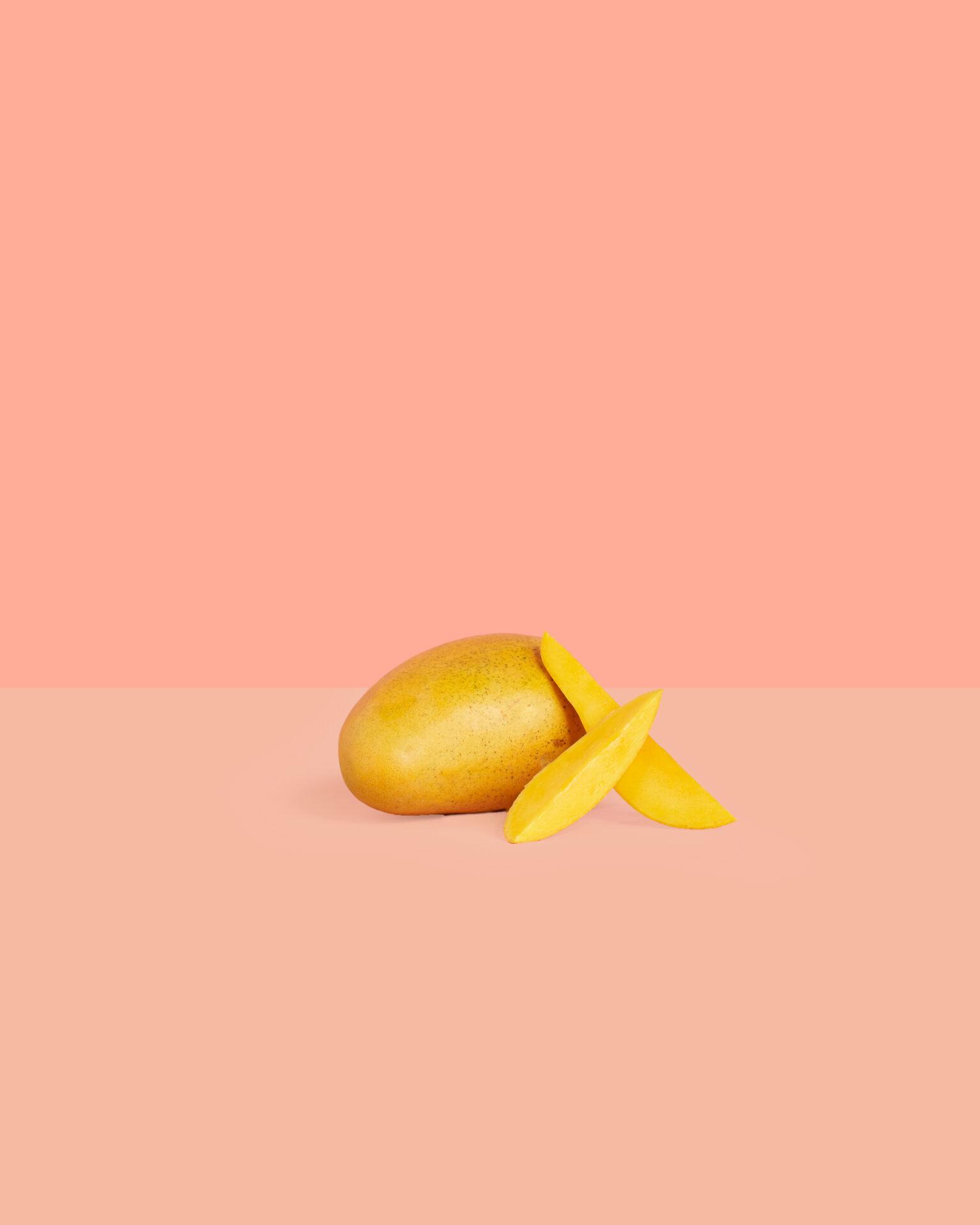 Spiced Minty Mango Mocktail