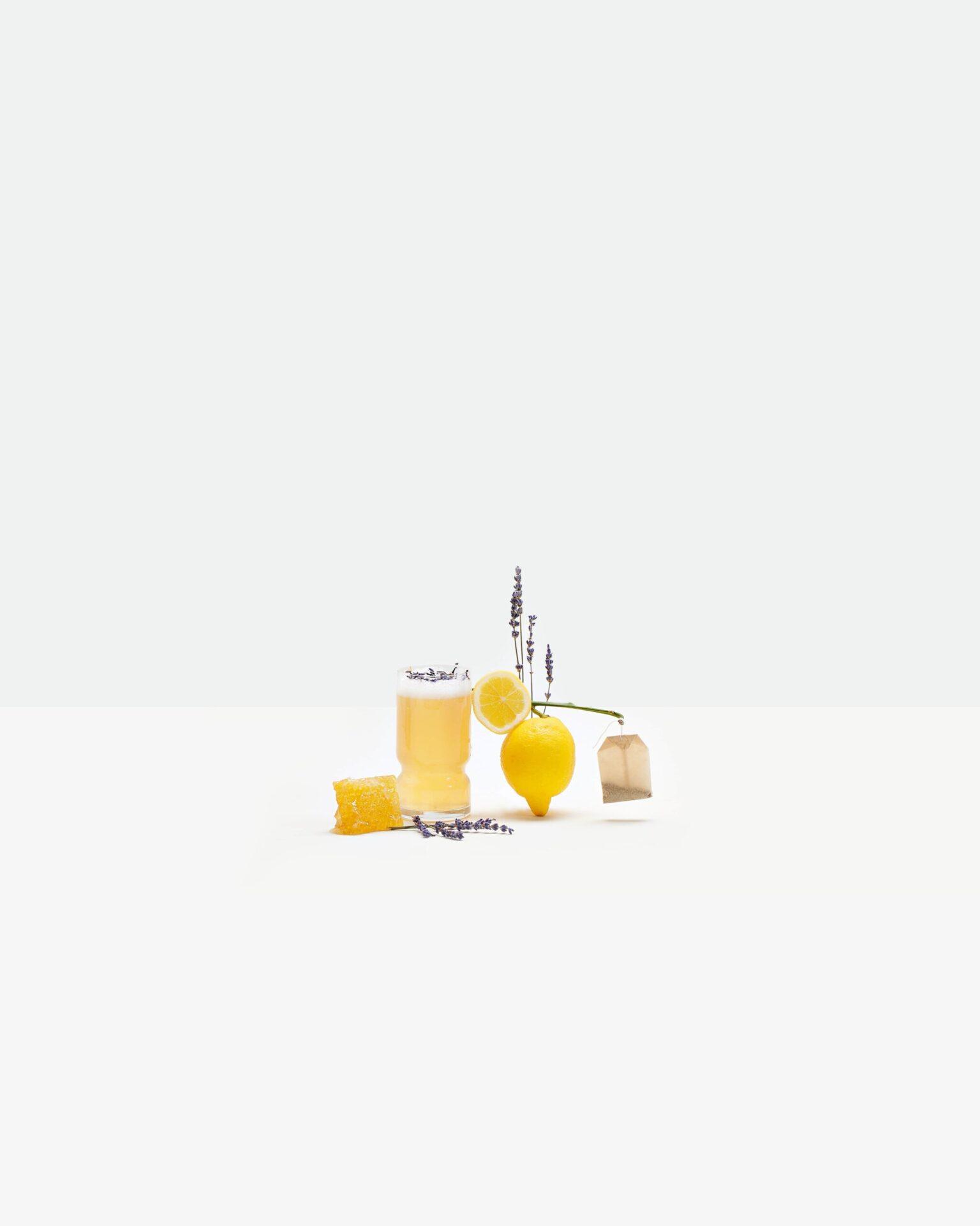 Calming Lavender Lemon Tea