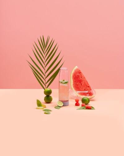 Watermelon Basil Agua Fresca